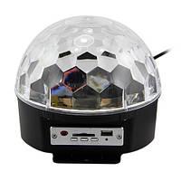 Световой диско шар c MP3 плеером LED Ball Light