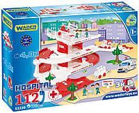 Конструктор больница госпиталь игровой набор гараж, фото 1