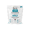 Brit Care Grain-free Adult Salmon & Potato беззерновой корм для собак мелких и средних пород, 1 кг