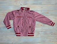 Ветровка бордовая HAKNUR 110 см, курточка на мальчика (ребенка) 5 лет, демисезонная курточка
