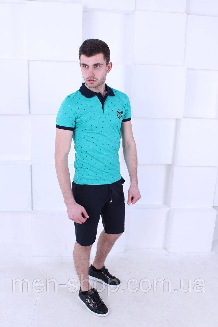 Яркий летний мужской костюм Armani