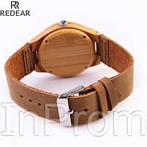 Бамбуковые часы Redear Wardes, фото 3