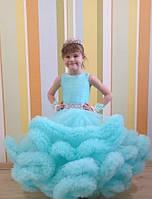Детское платье Облако, Ангел, цвет мятный