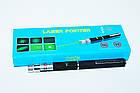 Лазер - указка с насадками (11+1) зеленая, фото 6