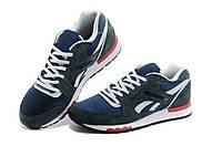 Кроссовки Reebok GL 6000 Gray Blue Серые мужские