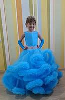 Детское платье Облако, Ангел, цвет бирюза