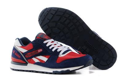 Кроссовки Reebok GL 6000 Blue Red Синие мужские