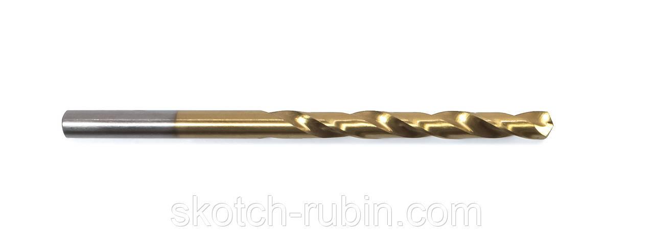 Свердло по металу Атака титан 5 мм 1 шт
