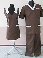 Костюм для мясного производства. Униформа поварская