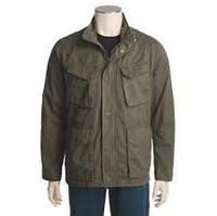 Однотонная демисезонная военная куртка