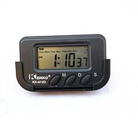 Электронные часы KK 613 D с секундами, 1001083, электронные часы, автомобильные часы, часы, часы с жидкокристаллическим монохромным дисплеем,
