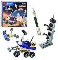 Детский конструктор BRICK / БРИК космическая станция, марсоход, ракета 512 ( аналог лего / lego )