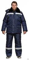 Костюм утепленный, зимняя спецодежда, униформа мужская