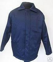 Куртка утепленная рабочая, фуфайка, ватная курточка, утепленная спецодежда, рабочая одежда зимняя