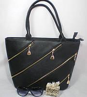 Вместительная стильная женская сумка на каждый день