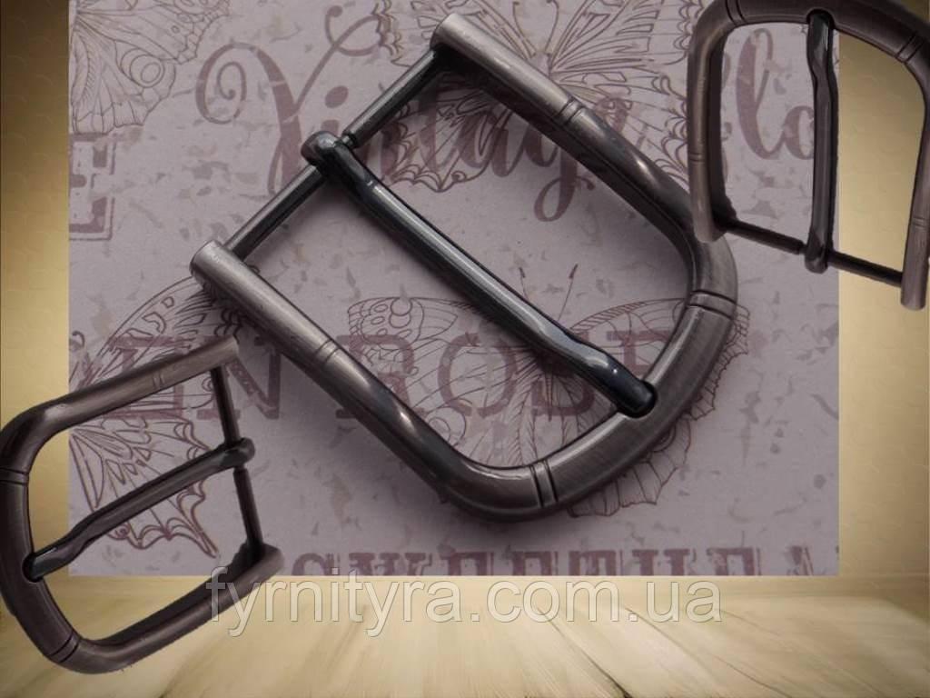 Пряжка ременная 40мм 040, т.никель