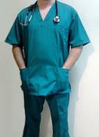 Костюм хирургический мужской (V-образный вырез) заказ от 10 единиц