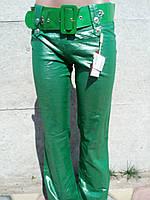 Штаны женские цветные Зеленый, 25