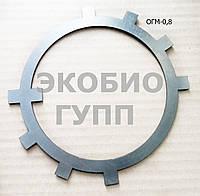 Стопорная шайба шлицевого вала ОГМ 0,8