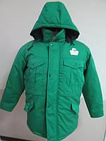 Куртка рабочая зимняя, удлиненная курточка, спецодежда утепленная
