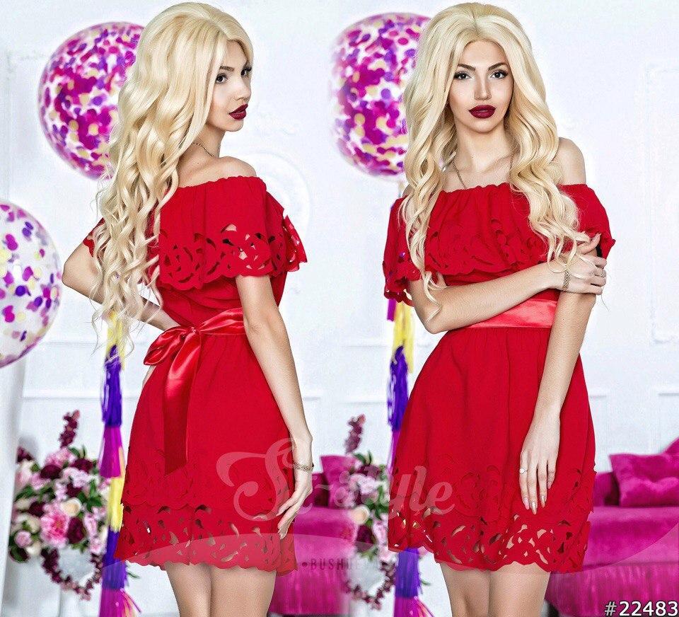 Платье  нарядное с короткое