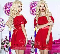 Платье  нарядное с короткое, фото 1