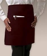 Фартук для бармена, официанта, униформа для кафе