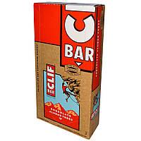 Clif Bar, Энергетический батончик со вкусом шоколадно-миндальной помадки, 12 шт. по 68г каждый