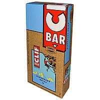 Clif Bar, Энергетический батончик со вкусом хрустящей черники, 12 батончиков, 2,4 унций (68 г) каждый батончик