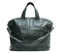 Женская кожаная сумка 22 ZF Зеленая