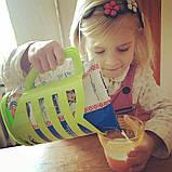 Кувшин-подставка для молочных пакетов 1л. Оранжевый, фото 4