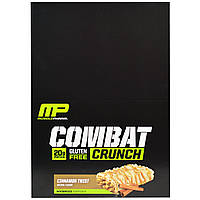 Muscle Pharm, Combat Crunch, корица, 12 батончиков, 63 г каждый