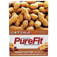 Pure Fit Bars, Premium Nutrition Bars, Хрустящие Батончики с Арахисовым Маслом, 15 штук по 2 унции (57 г) каждая