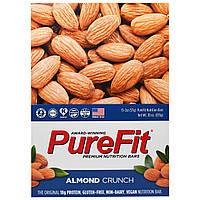 Pure Fit Bars, Premium Nutrition Bars, Хрустящий Миндаль, 15 штук по 2 унции (57 г) каждая