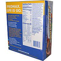 Promax Nutrition, Энергетические батончики с хрустящим вкусом шоколада и арахиса, 12 шт. по 75г каждый