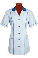 Куртка женская для уборщиц, униформа для горничных, спецодежда для сферы обслуживания