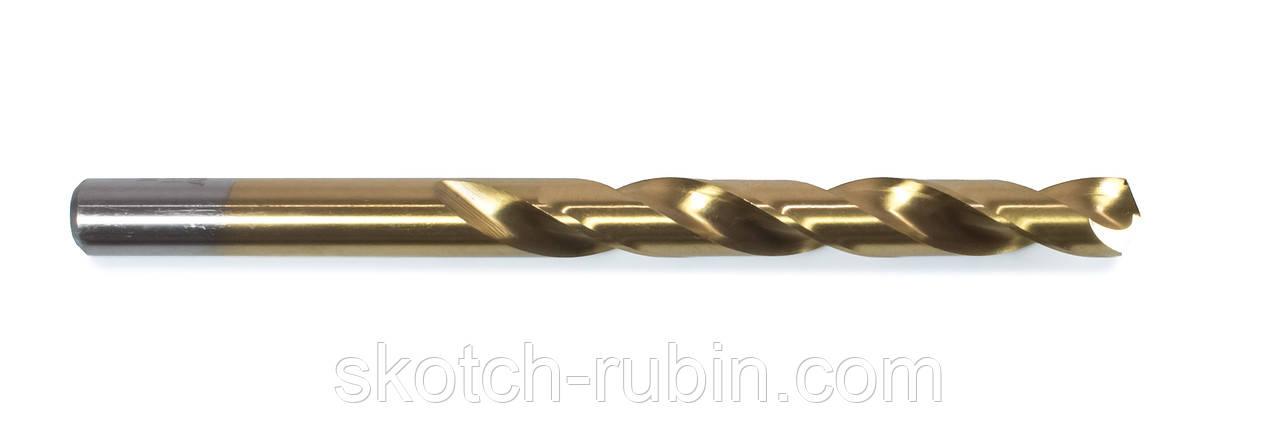 Набор сверл по металлу Атака 6,2 мм 10 штук