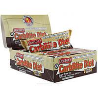 Universal Nutrition, Doctors CarbRite Diet, Диетические батончики из песочного теста без сахара, 12 батончиков, 2 унции (56,7 г) каждый