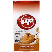 YUP, B Up, протеиновый батончик, арахисовое масло, 12 батончиков , 2.2 унции(62 г) каждый