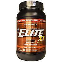 Dymatize Nutrition, Мульти протеин Elite XT с матрицей пролонгированного действия с насыщенным шоколадным вкусом, 2фунта (892 г)