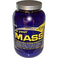 Maximum Human Performance, LLC, Up Your Mass, Нараститель веса , со вкусом брауни, 2 фунта (931 гр)