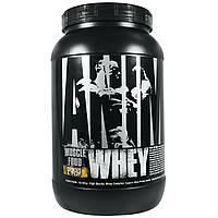 Universal Nutrition, Animal, сывороточный протеин для мышц, печенье и сливки, 2 фунта (907 г)