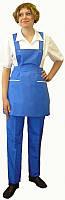 Униформа для горничной, комплект уборщицы, брюки и фартук, костюм-клининг