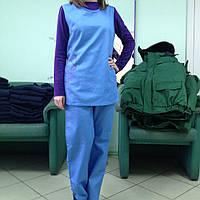Комплект клининг, униформа горничной, комплект уборщицы
