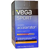 Vega, Спортпит, ускоритель восстановления, тропический аромат, 12 пакетиков по 0,96 унций (27 г)