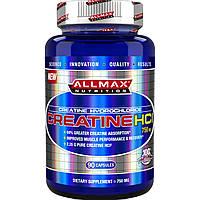 ALLMAX Nutrition, Креатин HCI, 750 мг, 90 капсул