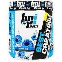 BPI Sports, Лучший креатин, креатиновая формула для увеличения силы, Синий ледяной нокаут, 10,58 унции (300 г)