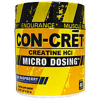 Con-Cret, Креатин HCl, микродозированный, голубая малина (52 г)
