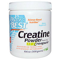 Doctors Best, Creatine Powder Featuring Creapure, 10.6 oz (10.6 oz)