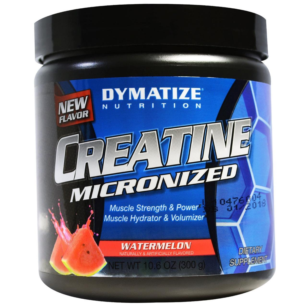 Dymatize Nutrition, Креатин микронизированный, арбуз, 10,6 унций (300 г)